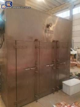 Estufa aço inox Grantham Engineering