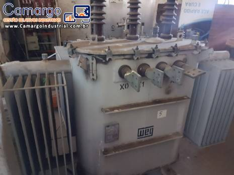 Transformador á óleo 500 kva WEG