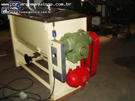 Misturador industrial para pó em aço inox