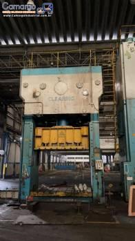 Prensa hidraulica chapas 750 toneladas Clearing