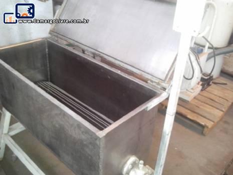Misturador em aço inox