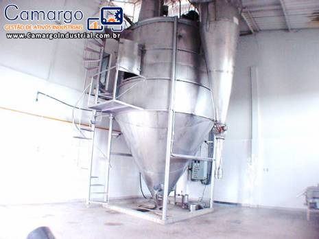 Spray Dryer para 800 L hora Galaxie