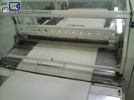 Guilhotina faca horizontal automática
