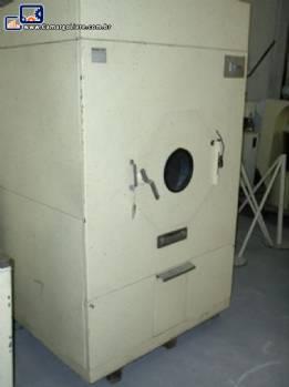 Estufa industrial rotativa para secagem de granulados