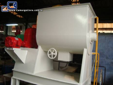 Misturador industrial ribbon blender de 300 kg