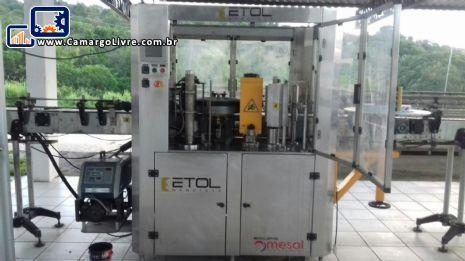 Rotuladora rotativa automática Etol  Mesal
