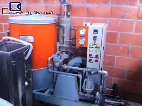 Caldeira gerador de vapor J G equipamentos