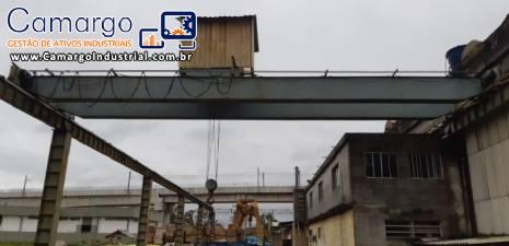 Ponte rolante para 15 toneladas Sansei