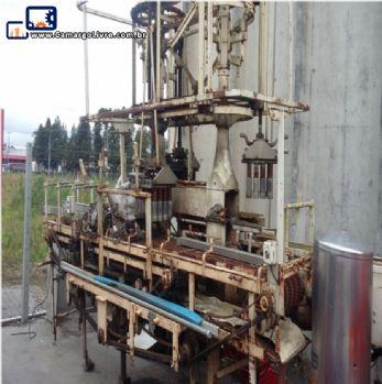 Conjunto de máquinas para produção de refrigerante